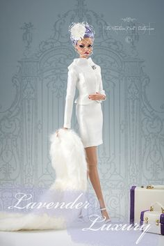 Lavender Luxury   Blogged about at insidethefashiondollstudi\u2026   Flickr