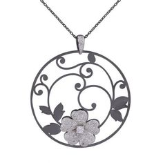 pendant necklace,  #pendant,  #floral  necklaces -  necklace -  jewelry