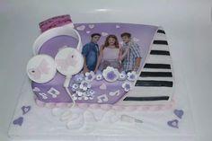 Torta Violetta 100% Comestible.