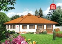 Projekt domu: Dom przy Słonecznej Cottage Style House Plans, Cottage Style Homes, Future House, Gazebo, Outdoor Structures, House Design, How To Plan, Prefab Homes, Projects