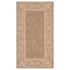 Safavieh Courtyard Patio Rug - Brown / Natural