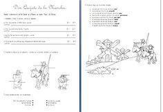 """Les quichotteries de Delphine: Co à faire avec le cd élève """"A mí me encanta 4ème"""", p 23 - Don Quijote de la Mancha"""""""
