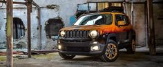 Jeep has teamed up with a company called Garage Italia Customs to give us a couple of its Renegade crossover SUV models with a unique look for the Montreux Jazz Festival. The unveiling took place on the 4th of July and even if you think the Renegade isn't a real Jeep, you'll like these twins.