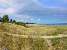Himmel und Wasser treffen aufeinander. Am wunderschönen Strand von Marielyst kann man sich davon überzeugen lassen. Ein Ferienhaus in dieser Gegend ist immer sehr beliebt. #Dänemark #Urlaub #Marielyst #Sommer #Sonne #Himmel