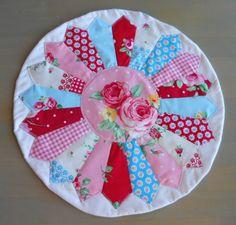 Dresden Plate trivet