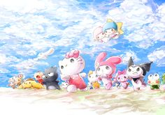 SANRIO Characters - Hello Kitty, My Melody, Kuromi, Keroppi, Little Twin Stars & More.