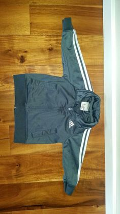 ADIDAS Boy's Sports Jacket Zip Long Sleeve Gray  Stripes Size 12M Track Gym  #fashion #clothing #shoes #accessories #babytoddlerclothing #boysclothingnewborn5t (ebay link) Baby & Toddler Clothing, Toddler Boys, Gym Fashion, Fashion Design, Gray Stripes, Sports Jacket, Gym Shorts Womens, Track, Adidas
