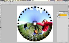 Make spinner photos circular! by aido on the lomography website