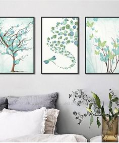 Nordic Poster And Prints Wall Art Canvas Painting Wall Pictures Nature Trees Butterfly Home Decor For Living Room Decoration Abstract Wall Art, Canvas Wall Art, Wall Art Prints, Decoration, Art Decor, Room Decor, Kids Room Wall Art, Room Art, Nordic Art