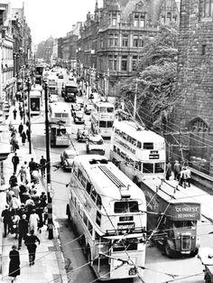 Grainger Street, Newcastle upon Tyne, 1957
