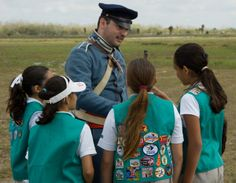 Many of our National Parks have service programs for Girl Scouts, including Voyageurs National Park in MN.