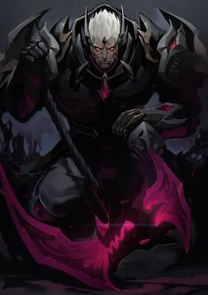Kiken Titan Form/ Healing factor, Super Strength( basically becomes juggernaut), Axe of Despair- open rifts then suck you in and spit you out in q vulnerable position on the ground on you face lying thus leaving you wide open for continuous attacks