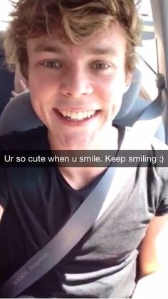 Awww Ash ❤️ when a picture of someone can make you blush.