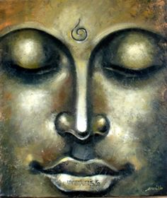 Gautama Buddha - J. Kalidass, Gallery of Gnani Arts  .  Hatred does not cease by…
