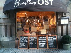 bengtsons ost (a cheese shop)