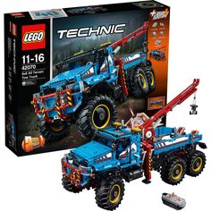 Neu LEGO 42070 Technic: Allrad-Abschleppwagen 6667214! Love Lego!  Start Bonding With Your Kids! Young And Old Love This!