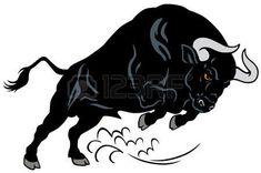angry bull attacking pose image isolated on white background Stock Vector Toros Tattoo, Taurus Bull Tattoos, Bull Images, Arte Lowrider, Taurus Constellation Tattoo, Mythological Animals, Bull Logo, Tatuagem Old School, Animal Posters