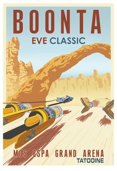 Star Wars Travel Poster
