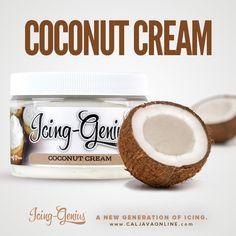 Paired Pack - Coconut Cream Icing Genius, CMC, & FREE 2lb FondX