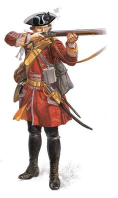 The Jacobite rebellion - Redcoat Soldier