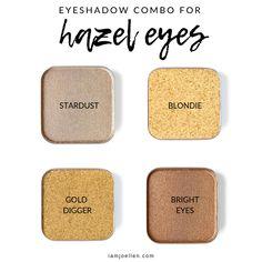 Eyeshadows that Will Make Hazel Eyes Pop - Maskcara Beauty Girl Eyeshadow For Blue Eyes, Best Eyeshadow, Makeup For Green Eyes, Blue Eye Makeup, Colorful Eyeshadow, Smokey Eye Makeup, Colorful Makeup, Eyeshadow Makeup, Maskcara Makeup
