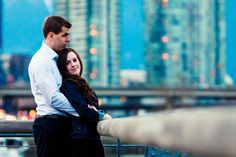 Great engagement session by J. Keddie Photography at Vancouver Olympic Village.