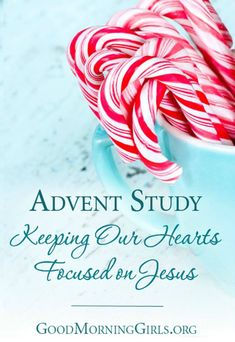 FREE Advent Study - Keeping Our Hearts Focused on Jesus at Christmas *****************************************and FREE Children's Advent Study with a daily lesson, activity and prayer!