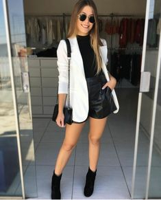 Casual winter outfits - 6 looks incríveis com Blazer – Casual winter outfits Casual Winter Outfits, Classy Outfits, Chic Outfits, Fall Outfits, Fashion Outfits, Womens Fashion, Summer Outfits, Emo Outfits, Fashion Trends