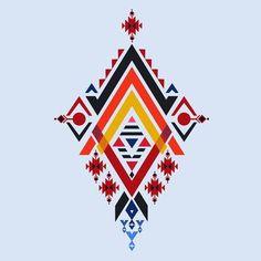 African Patterns Images, Stock Photos & Vectors Vector Aztec stile, tribal elements design mix geometric textile with light blue color background Tribal Pattern Art, Tribal Art, Pattern Images, Pattern Design, Pinstriping, Motifs Aztèques, Ethnic Patterns, African Patterns, Motifs Perler
