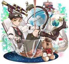 Welcome to the World of Steampunk Imagine a high-tech world where the machines were powered by steam and clockwork mechanisms replaced electronics. Eyebrow Game, Latin Hetalia, Hetaoni, Hetalia England, Hetalia Characters, Anime Characters, Hetalia Fanart, Hetalia Axis Powers, Usuk