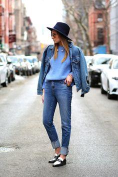 Street Style | Denim Jacket streetsnaps