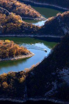 Special Nature Reserve Uvac in Serbia