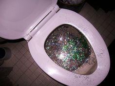 I hate it when Ke$ha uses the bathroom before me.