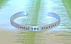 personalized bracelet gamer bracelet i choose you by ragequitgifts