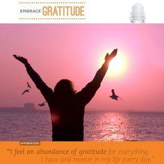 """""""Embrace Gratitude"""""""