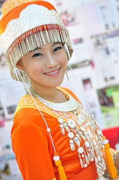 Beautiful Hmong Women girl Thailand