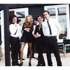 I just love this photo and edit. Suits are out in force for the leavers dinner the other night. It's perf
