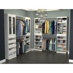 ClosetMaid W Modular Storage Stackable Shoe Shelf Unit Modular Closets, Modular Storage, Storage Systems, Storage Solutions, Bedroom Closet Design, Closet Designs, Bedroom Closets, Bedroom Decor, Bedroom Ideas