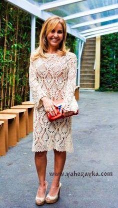 Эффектное платье от Ванессы Монторо