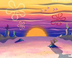 Spongebob explains summer break for college students Computer Wallpaper, Aesthetic Iphone Wallpaper, Cartoon Wallpaper, Aesthetic Wallpapers, Goth Disney, Sunset Wallpaper, Wallpaper Backgrounds, Spongebob Background, Photo Tips