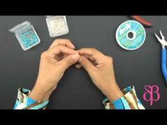 ▶ Técnicas de Bisutería: Enfilado Cruzado.mp4 - YouTube