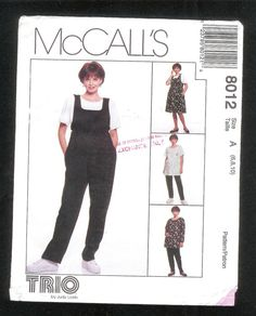 ce7a4611f729 McCall s Maternity Jumpsuit Jumper Pants  amp  Top Misses  by lucysbud