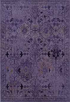 2'x8' Runner Purple Rug By Loom Craft Patina | On Sale at Floors USA | Item No. ER-16046-107546