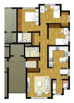 평형별 도면설계 - 아크로스는 목조주택 전문시공 기업입니다.