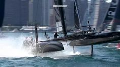 Watch them go over! World on Water June 17.16 Sailing TV News  America's Cup Explained,  Sup...