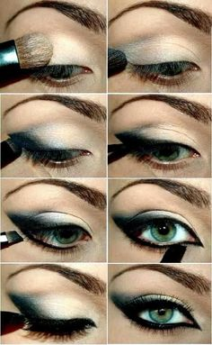 #cat #eye makeup