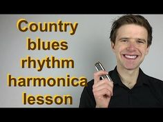 Country blues harmonica rhythm exercise lesson (Hotsy Totsy! Sonny Terry style) G blues harp lesson - YouTube