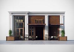 TURF bar & kitchen - Midtown, New York on Behance