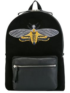 Shop Alexander McQueen skull moth embroidered backpack in Biffi from the world's best independent boutiques at farfetch.com. Shop 400 boutiques at one address.