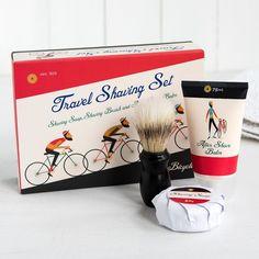 Le Bicycle Travel Shaving Set